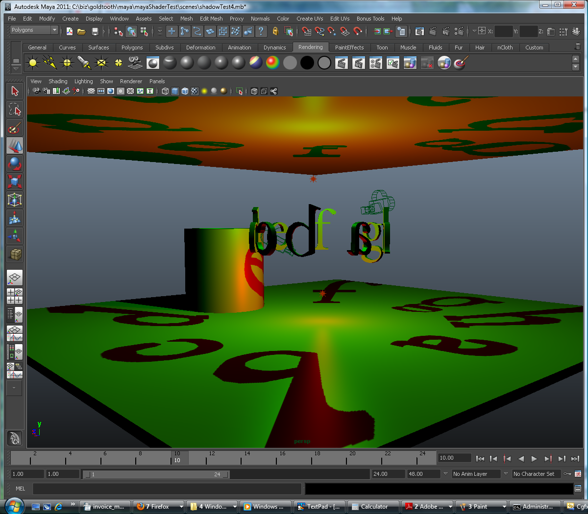 CGFX Plugin with shadows and screen space ambient occlusion